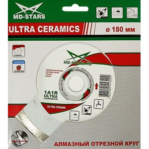 Алмазные диски 1A1R ULTRA CERAMICS MD-Stars